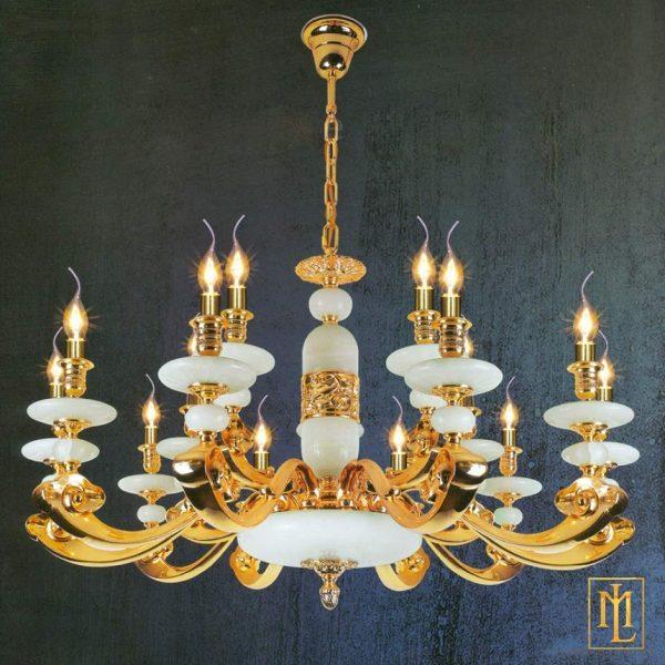 đèn chùm đồng ML-1162-15