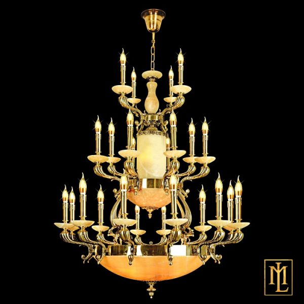 đèn chùm đồng ML-1204-24