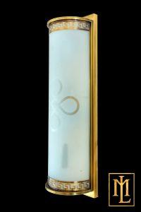 Đèn tường ngoại thất, đèn chùa đồng kính