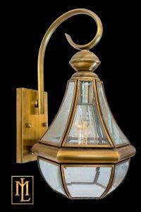 Đèn chùa đồng ML-B6027-1 w18 h38cm