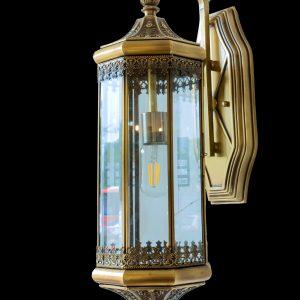 Đèn chùa đồng kính ML-B6099-1L W23.H60cm