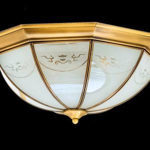 Đèn ốp trần đồng ML-C7040-6(w45cm)