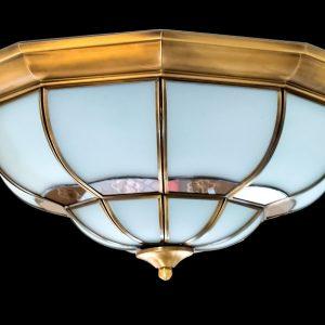 Đèn ốp trần đồng ML-C7042-6 (w45cm)