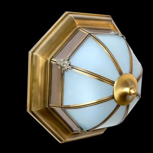 đèn ốp trần đồng ML-C7099-30cm